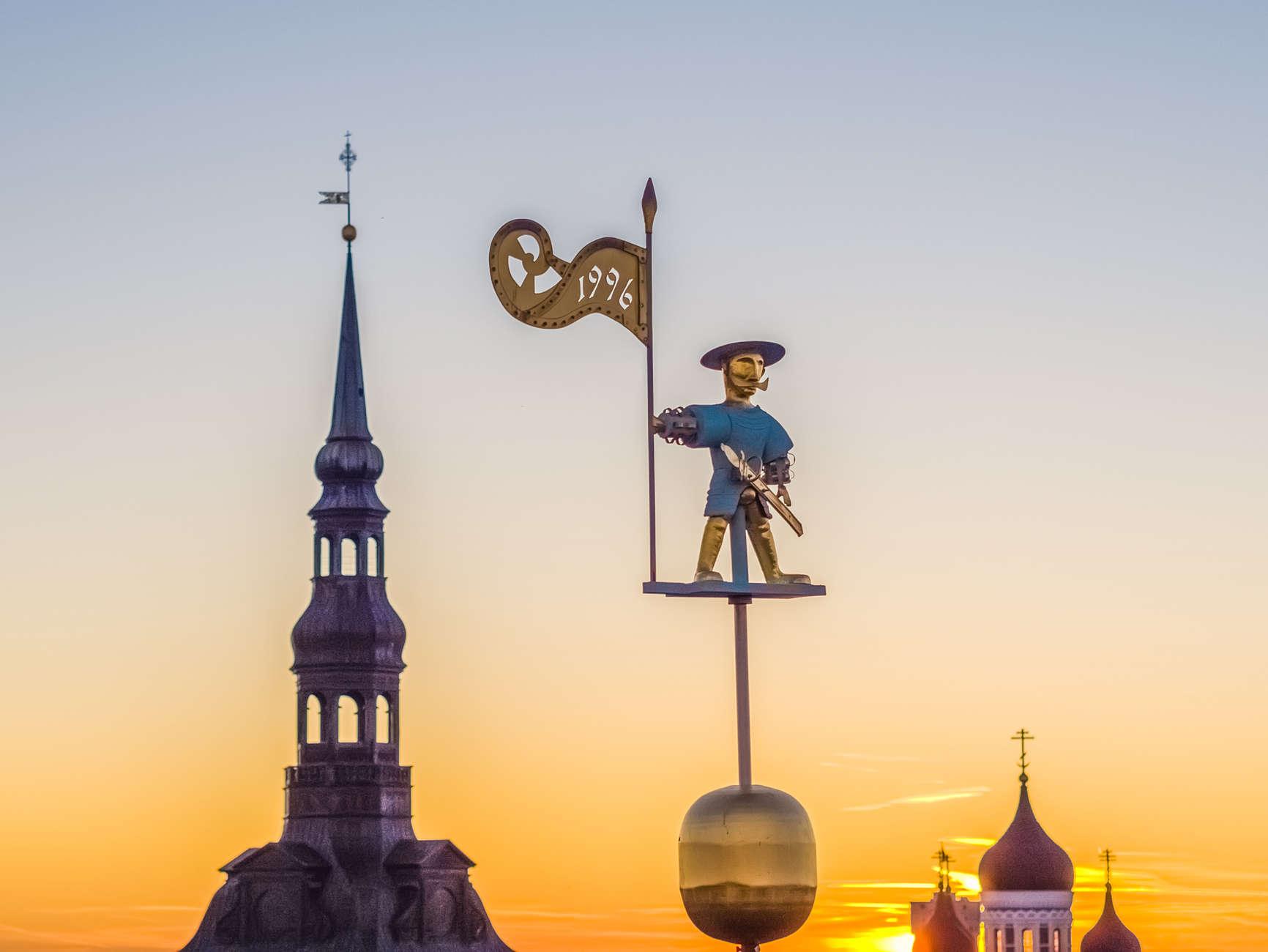 """""""Öreg Tamás vigyázza"""" – Tallinn nevezetességei"""