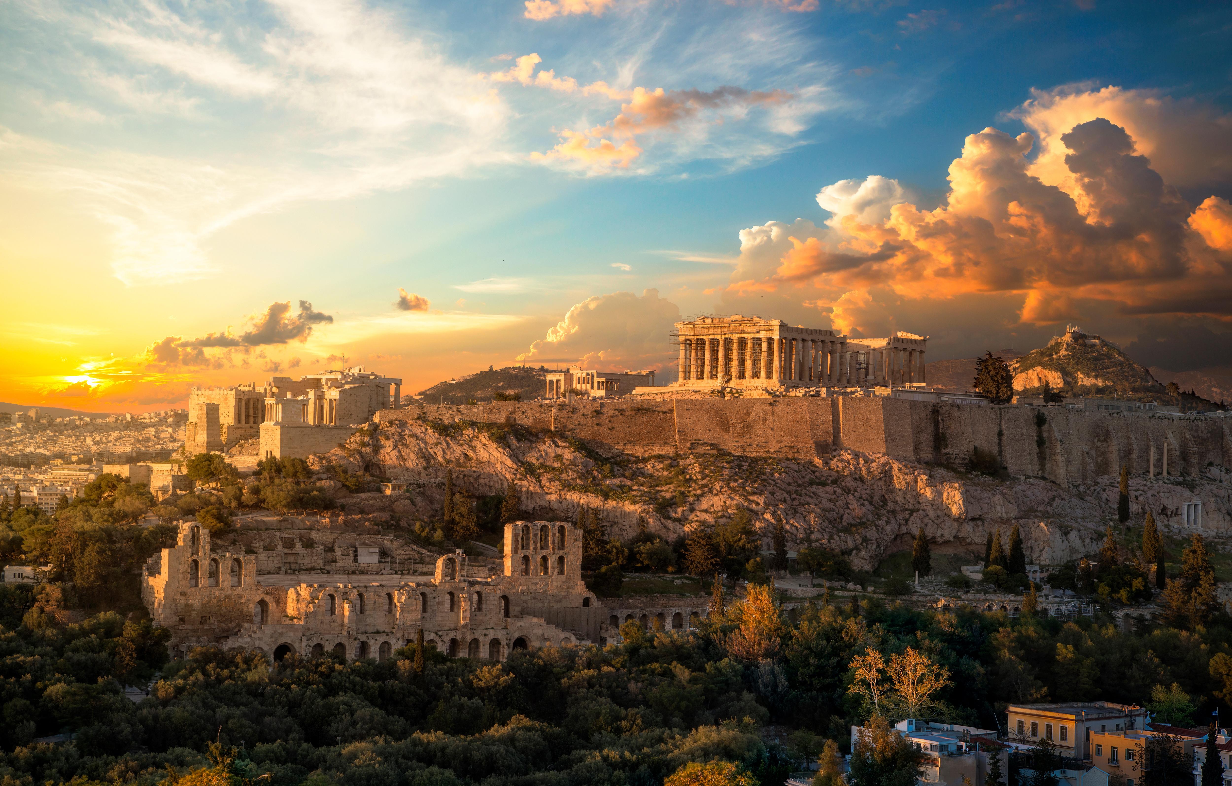 Athén, az ókori Görögország fellegvára