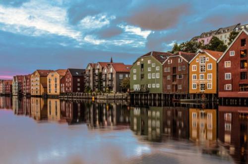 6 kép harmadik nap Trondheim