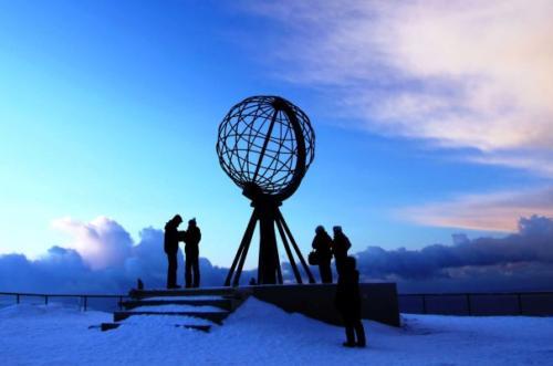 5 Téli kék fény az Északi-foknál